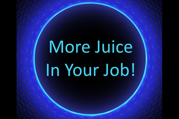 Feel more juice in your job! 9 fundamental principles